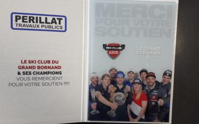 Années 2000's : Perillat TP commence à sponsoriser les clubs et sportifs locaux